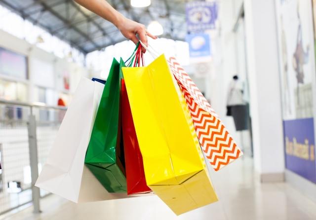 コクーンのショッピングバッグ